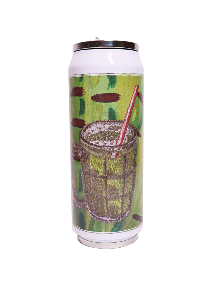 Sugarcane Juice ---- 甘蔗汁 Folding Straw Vacuum Flask