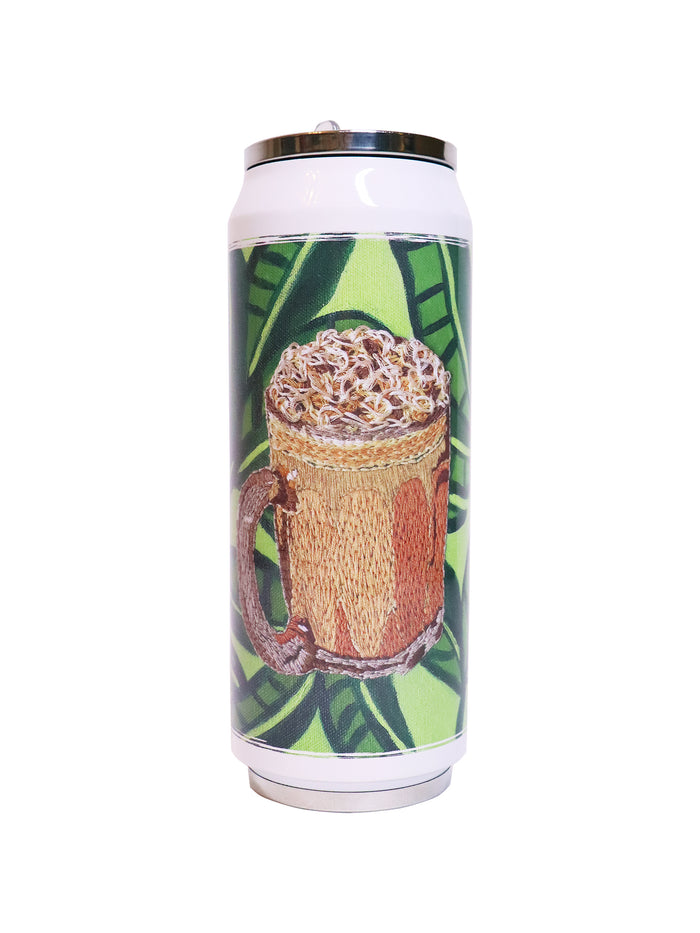 Teh Tarik  --- 拉茶 Folding Straw Vacuum Flask