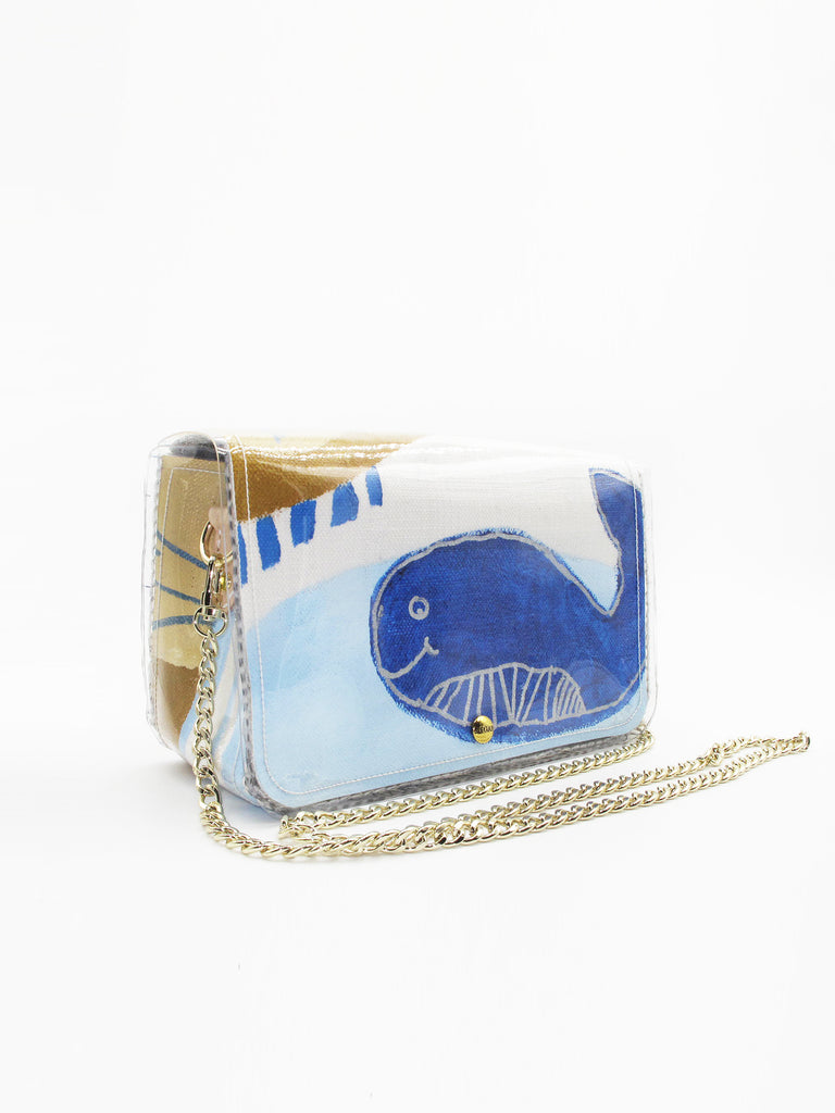 Sijun & Friends Whale Crossbody