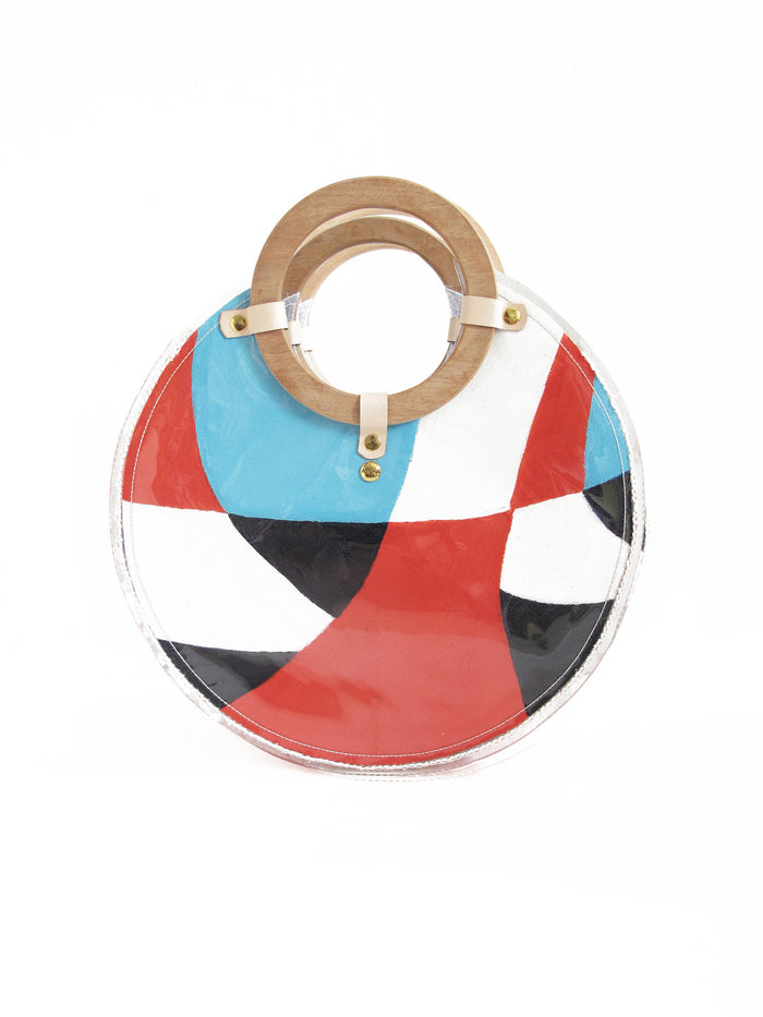 Super Tree Round Tote Bag