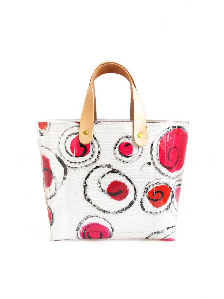 Little Red Dots Tote Bag