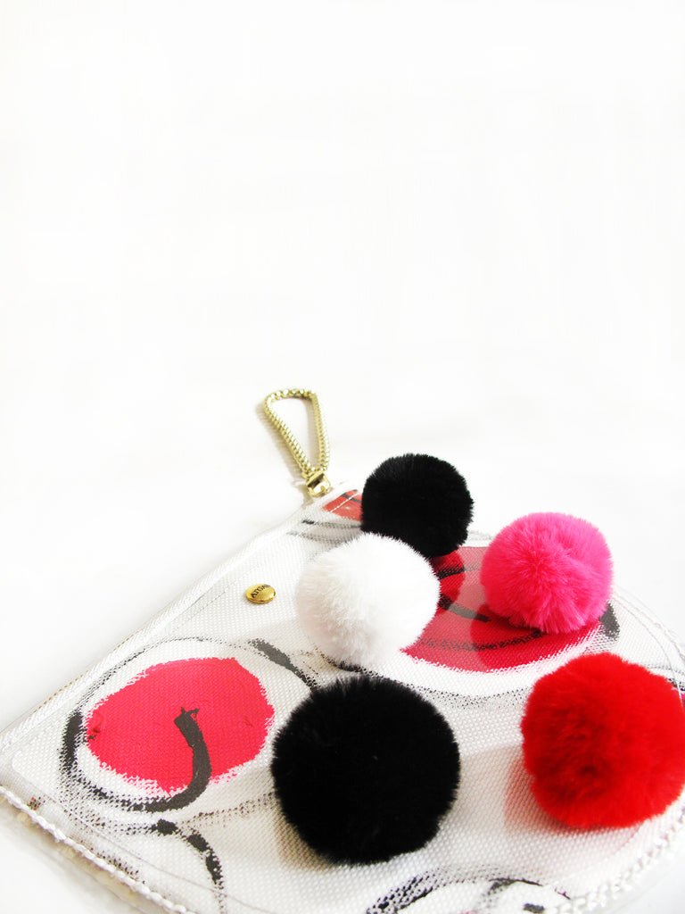 Little Red Dots Clutch