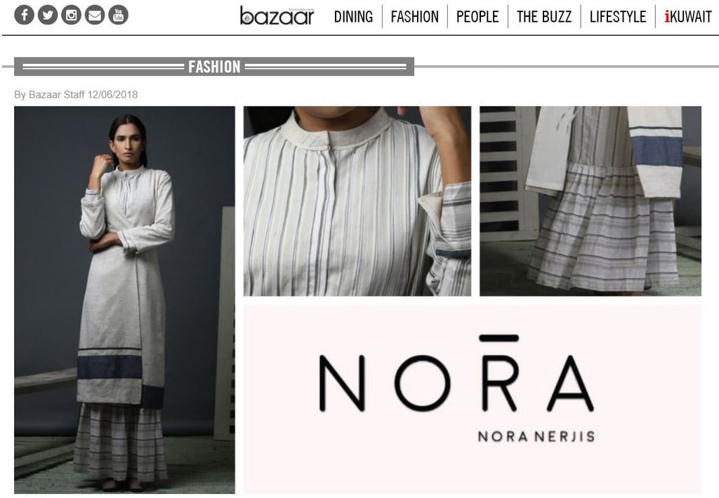 Noranerjis Bazaar Magazine featured