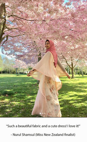 modesty, modest fashion, hijab, hijabstyling, hijabimodel, halima aden, miss new zealand, Nurul Shamsul, Nurulshamsul, noranerjis, customerfeedback, customer reveiw