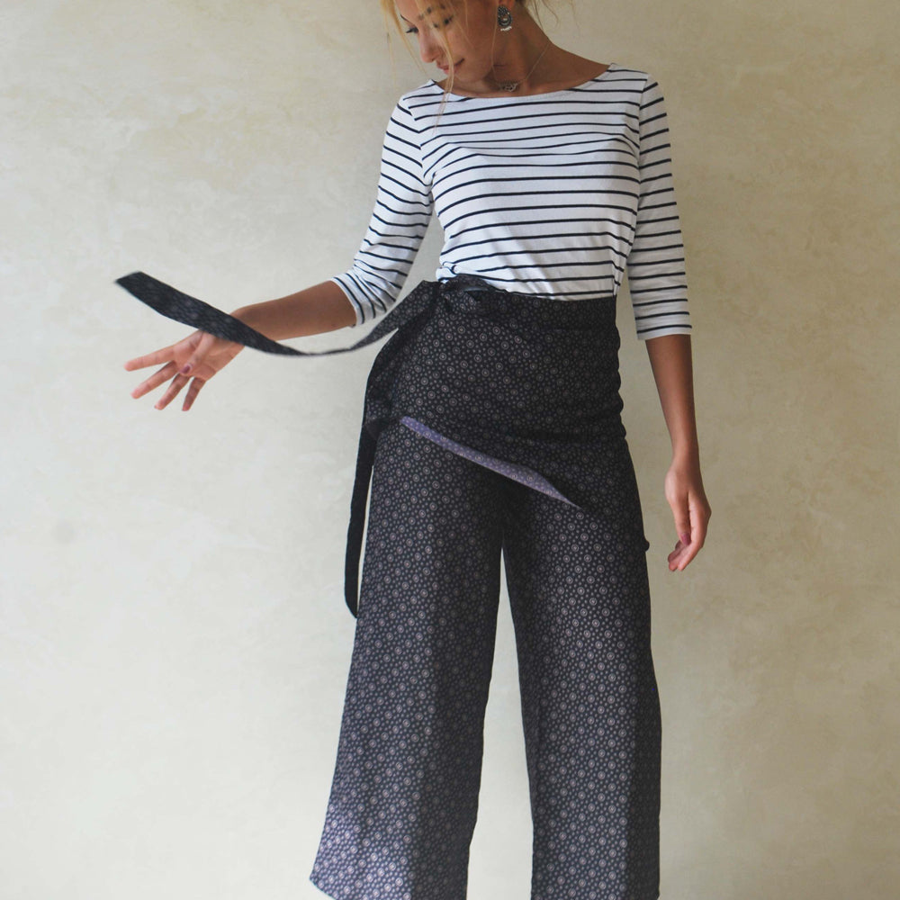 Geo wide leg trouser - LAST PIECE AVAILABLE!