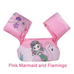 Pink Marmaid and Flamingo
