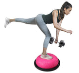 Yoga Core Balance Trainer Half Ball With Resistant Band