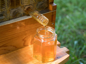 Can honey actually flow out of a hive?