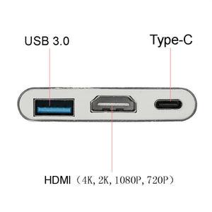 HUB USB 3.1 Type C to HDMI - USB 3.0 - Zone Adapter