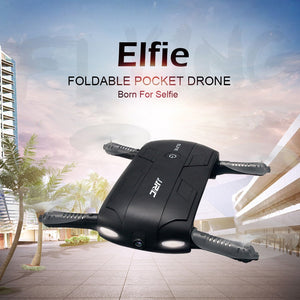 Mini Quadcopter HD Camera Elfie Foldable pocket drone - Zone Adapter