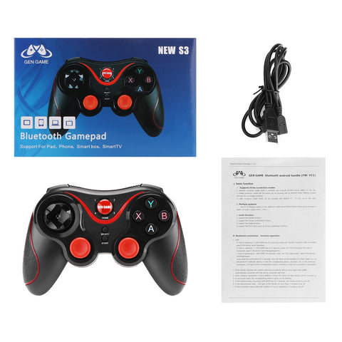 Wireless Bluetooth Connect Gamepad Rechargeable Controller Game - Zone Adapter
