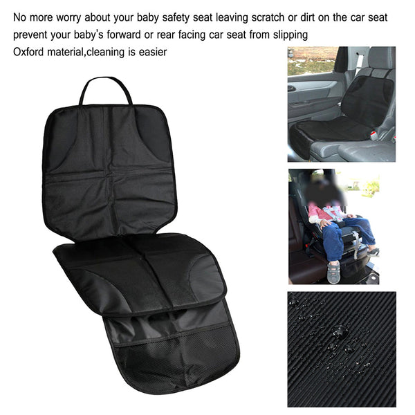 Leather Car Seat Protector Child or Baby Car Seat Cover Easy Clean Seat - Zone Adapter