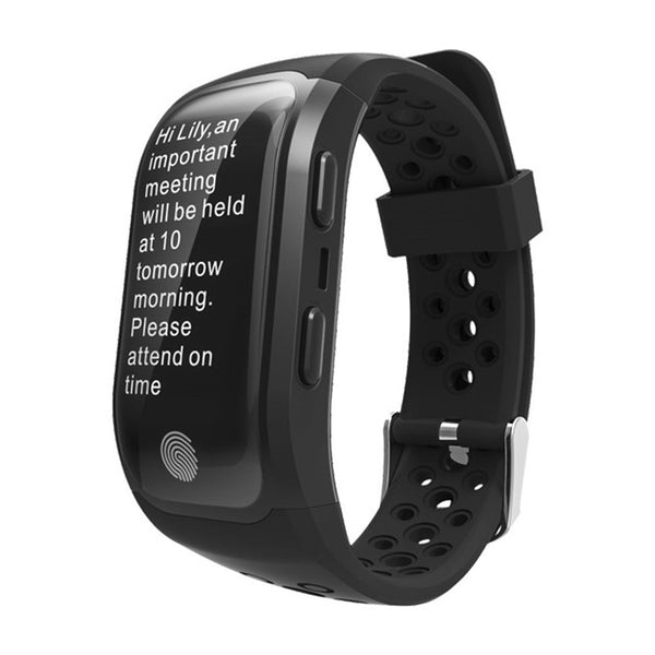 Smart Watch GPS Run Cycle Climb Heart Rate Monitor Cardiaco Health Fit For Iphone 7 Huami Android Smartwatch - Zone Adapter