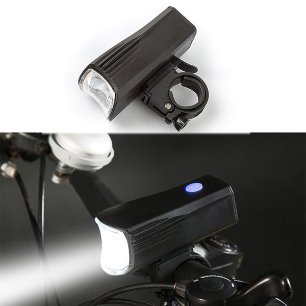 Bike light Bicycle USB Rechargeable bicycle lamp LED - Zone Adapter
