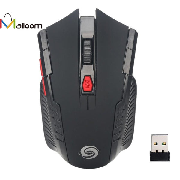 2.4Ghz USB Wireless Gaming Optical Mouse - Zone Adapter