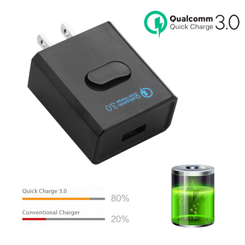 USB Charger Quick Charge 3.0 Fast Charger QC3.0 QC2.0 USB Adapter 5V 3A Portable - Zone Adapter