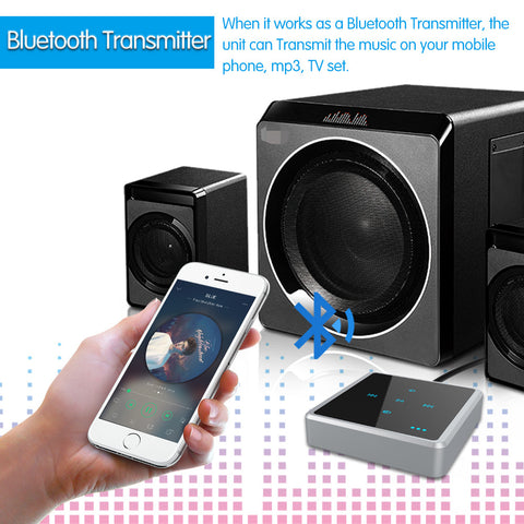 Transmitter and receiver Bluetooth 2 in 1 touch - Zone Adapter