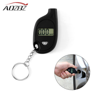 Car Mini Digital Tire Pressure Gauge 150 PSI Tester Toolfor Auto - Zone Adapter