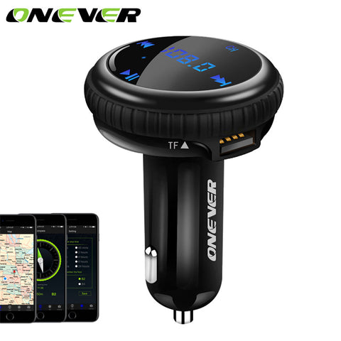 Bluetooth FM Transmitter USB Charger Adapter 2.1 A - Zone Adapter