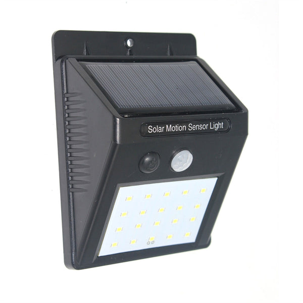 Solar lamp 20 LED outdoor waterproof motion sensor - Zone Adapter