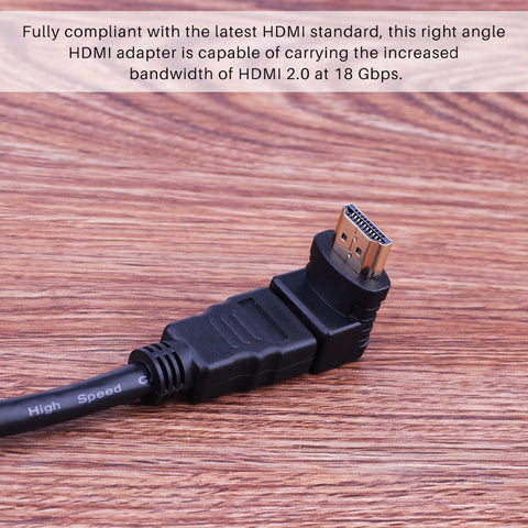90 degree HDMI adapter - Zone Adapter