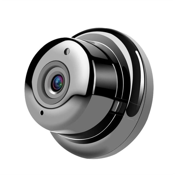 720P Mini Wireless Night Vision IP Camera with Wide Angle Viewing and Motion Detection - Zone Adapter