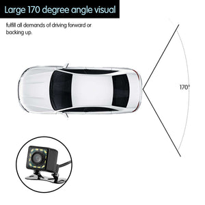 Car Rear View Camera Night Vision Reverse Backup Parking Rearview Camera - Zone Adapter