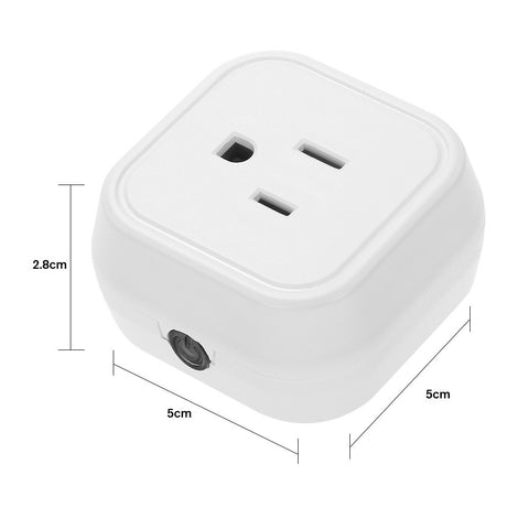 Mini Wifi Smart US Plug Voice Control for Amazon Alexa for Google Home/Nest IFTTT For TP-Link (1 Pack) - Zone Adapter