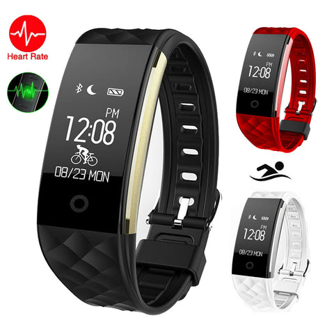 Smart Wristband Cycle Ride Heart Rate Monitor/Music HR Warn App GPS Run - Zone Adapter