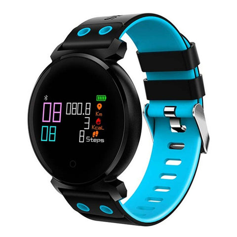 Metal Smart Wristband Watch Swimming IP68 Heart Rate/Blood Pressure/Oxygen Monitor Health For IOS/Xiaomi PK Xiomi3 - Zone Adapter