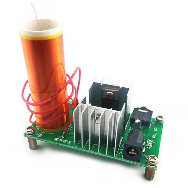 Electronic Kit Parts Production Tesla Coil Kit 15W MINI Music Loudspeaker - Zone Adapter