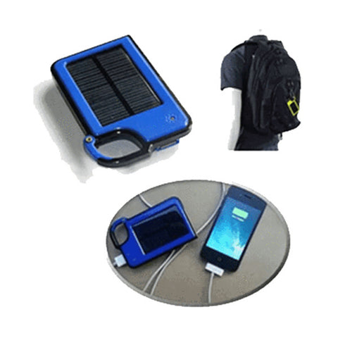 Smartphone Clip-On Solar Charger - Assorted Colors - Zone Adapter