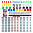 Electronics component pack with resistors, LEDs, Switch, Potentiometer for UNO, MEGA2560, Raspberry Pi - Zone Adapter