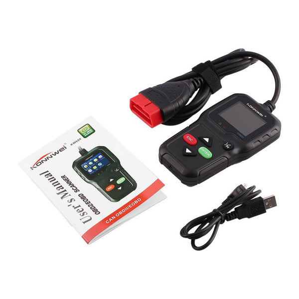 Car Failure Diagnosis Instrument OBD2/EOBD Code Reader Scanner - Zone Adapter
