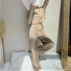 BEIGE CASUAL 2 PIECES SET