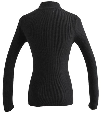 CUT OUT KNITTED SWEATER