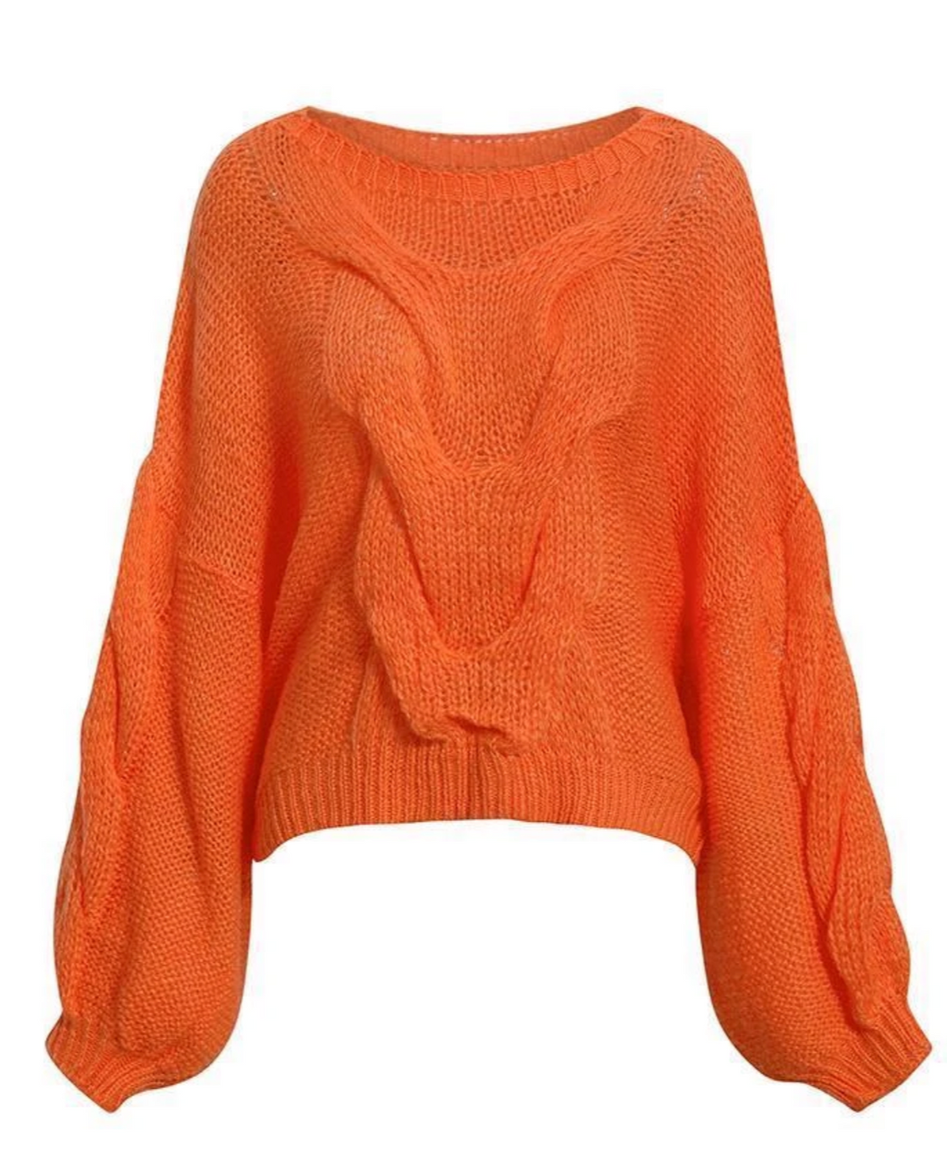 EYELASH KNITTED JUMPER