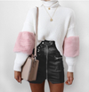 BIKER BELTED MINI SKIRT