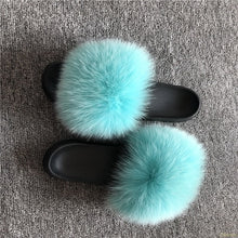 FAUX FUR  SLIDER
