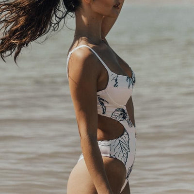 FPRINTED SWIMSUIT
