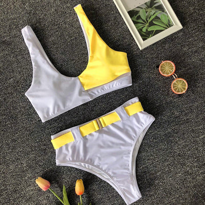 2 COLORED BIKINI SET