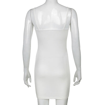 FRILL RUCHED BODYCON DRESS