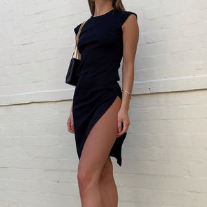 CASUAL SPLIT DRESS