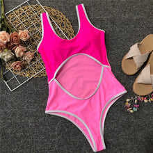 FRONT CUT OUT SWIMSUIT