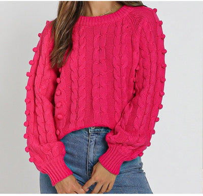 ROSE KNITTED JUMPER