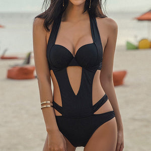 HALLOW OUT SWIMSUIT