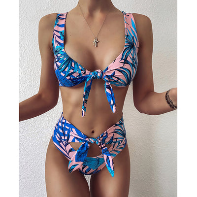 LEAF ADJUSTABLE BIKINI SET