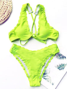 FRILL HIM BIKINI SET