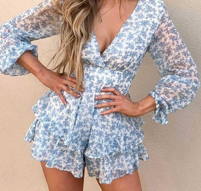 RUFFLES PLAYSUIT