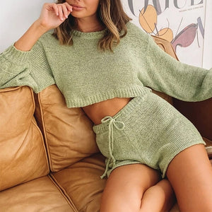 CROPPED 2 PIECES SET